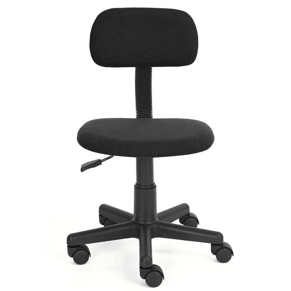 Yanyan Black Fabric Task Chair