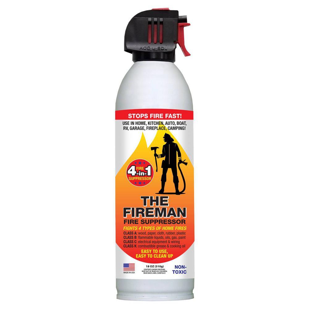 1 Shot Fire Extinguishing Spray