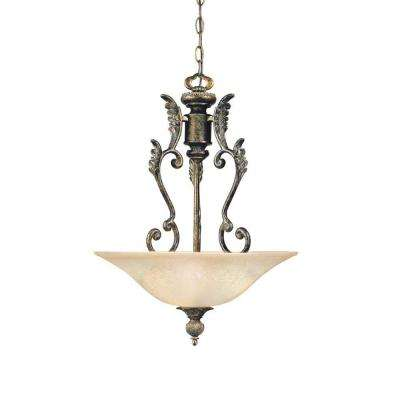 Avignon Collection 1-Light French Bronze Pendant