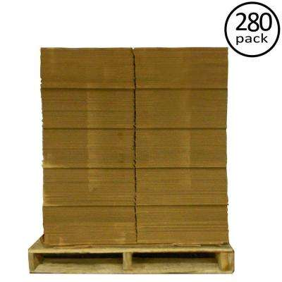 16 in. L x 12 in. W x 12 in. D Moving Box (280-Pack)