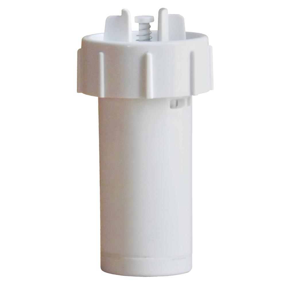 GermGuardian Humidifier Demineralization Filter, Whites PureGuardian FLTDC30 humidifier Demineralization Filter, Cartridge #3, is easy to use. It helps to prevent the release of minerals (white dust) into the air. It simply screws into the humidifier tank and will last approximately 1,000-hours or with the use of 260 Gal. of water. This all depends on the condition of the water you are using in the humidifier. It is still recommended to clean your humidifier accordingly, based on the Manufacturer's Instructions. It is recommended to use with the PureGuardian Models H965, H1010, H1010BL, and H1010P. Color: Whites.