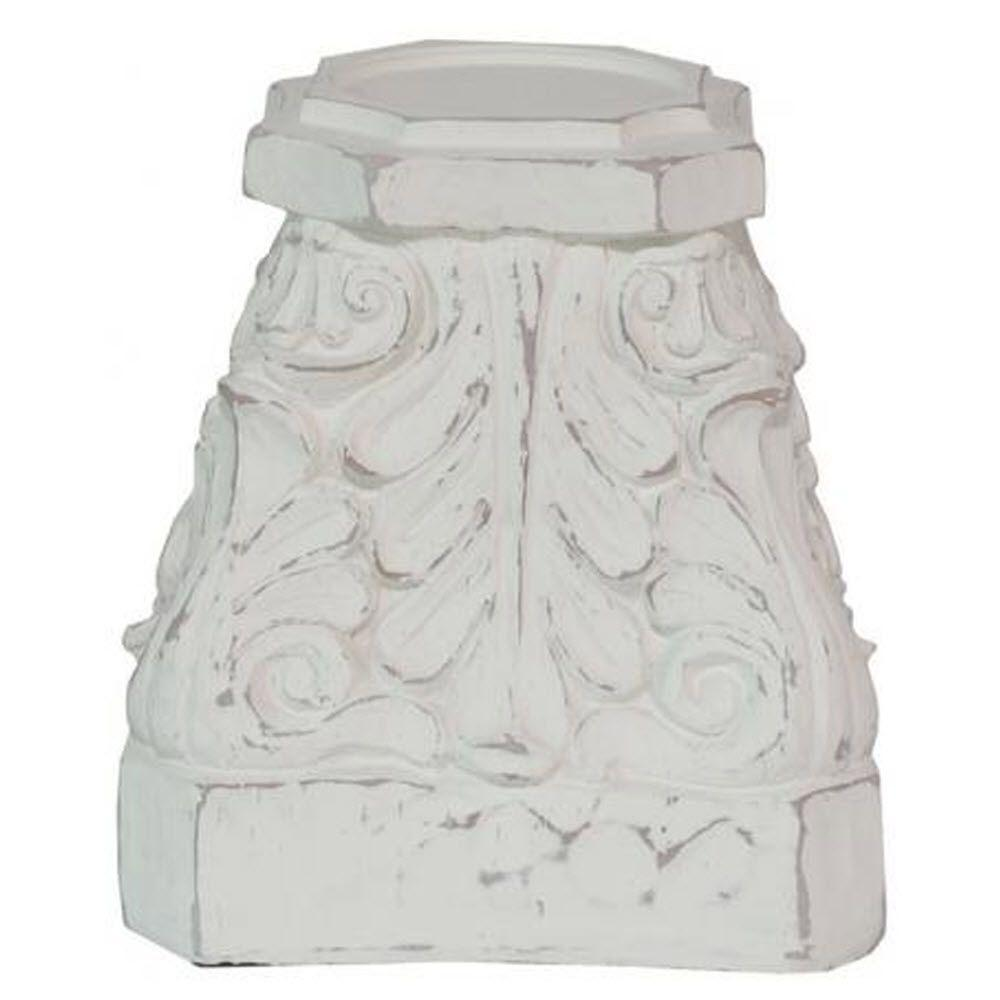 Home Decorators Collection Turin Antique White Large Candle Holder