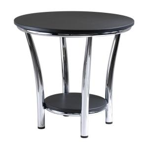 Winsome Wood Maya Black End Table by Winsome Wood