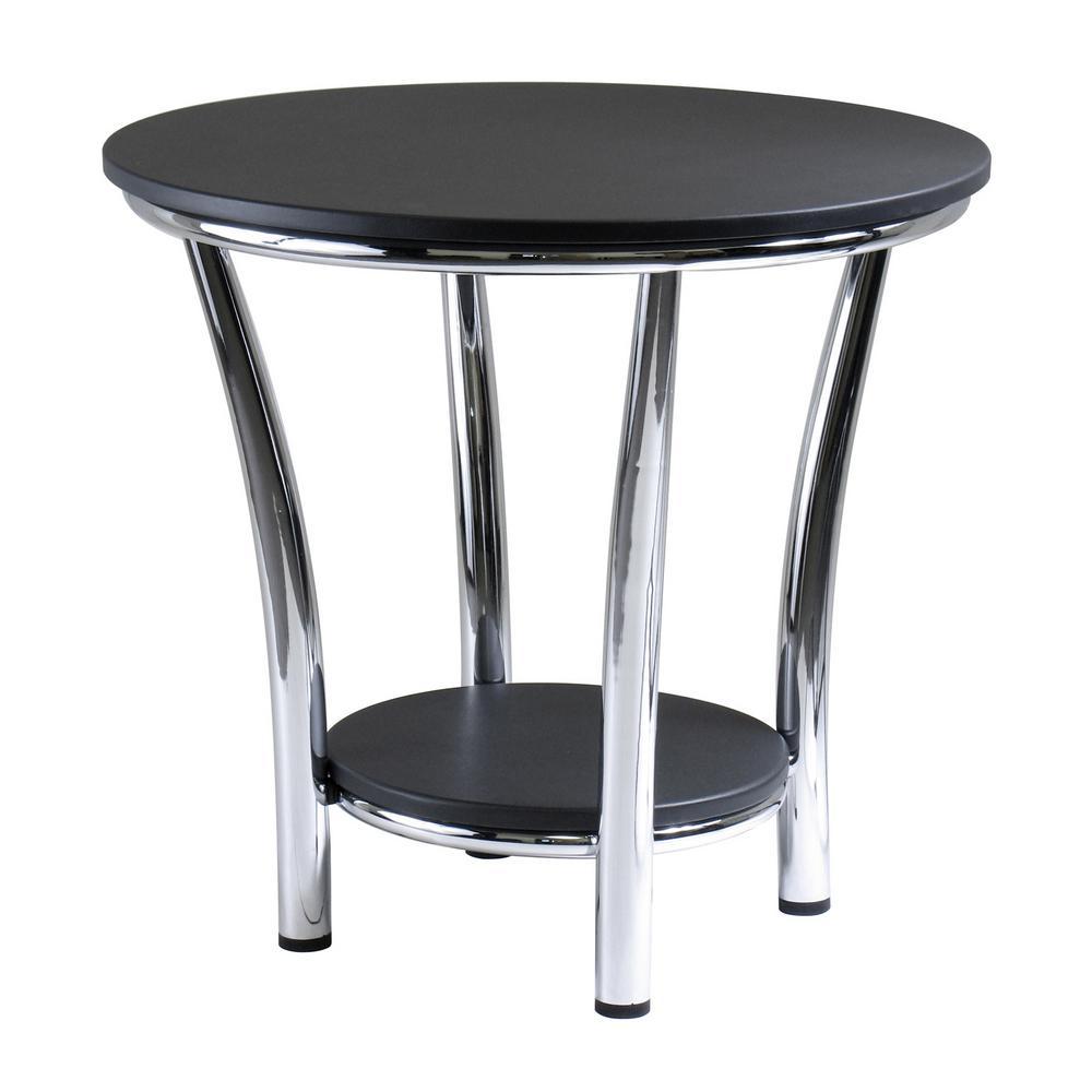 Maya Black End Table