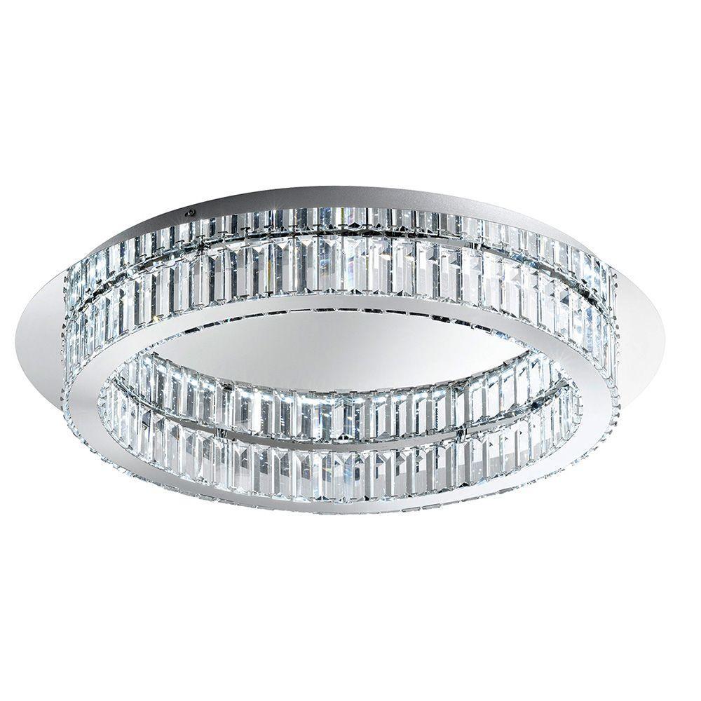 Corliano 12-Light Chrome Integrated LED Ceiling Light