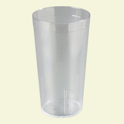 16 oz. SAN Plastic Stackable Tumbler in Clear (Case of 72)