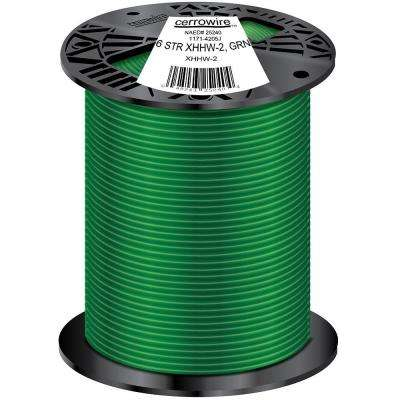 500 ft. 6/1 Stranded XHHW-2 Wire, Green