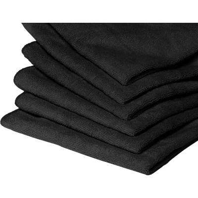 40 Microfiber Towels in Black