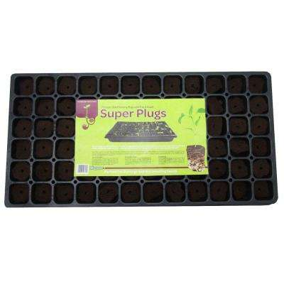 Super Plugs Starter Kit Seed Starter Plugs (72-Count)