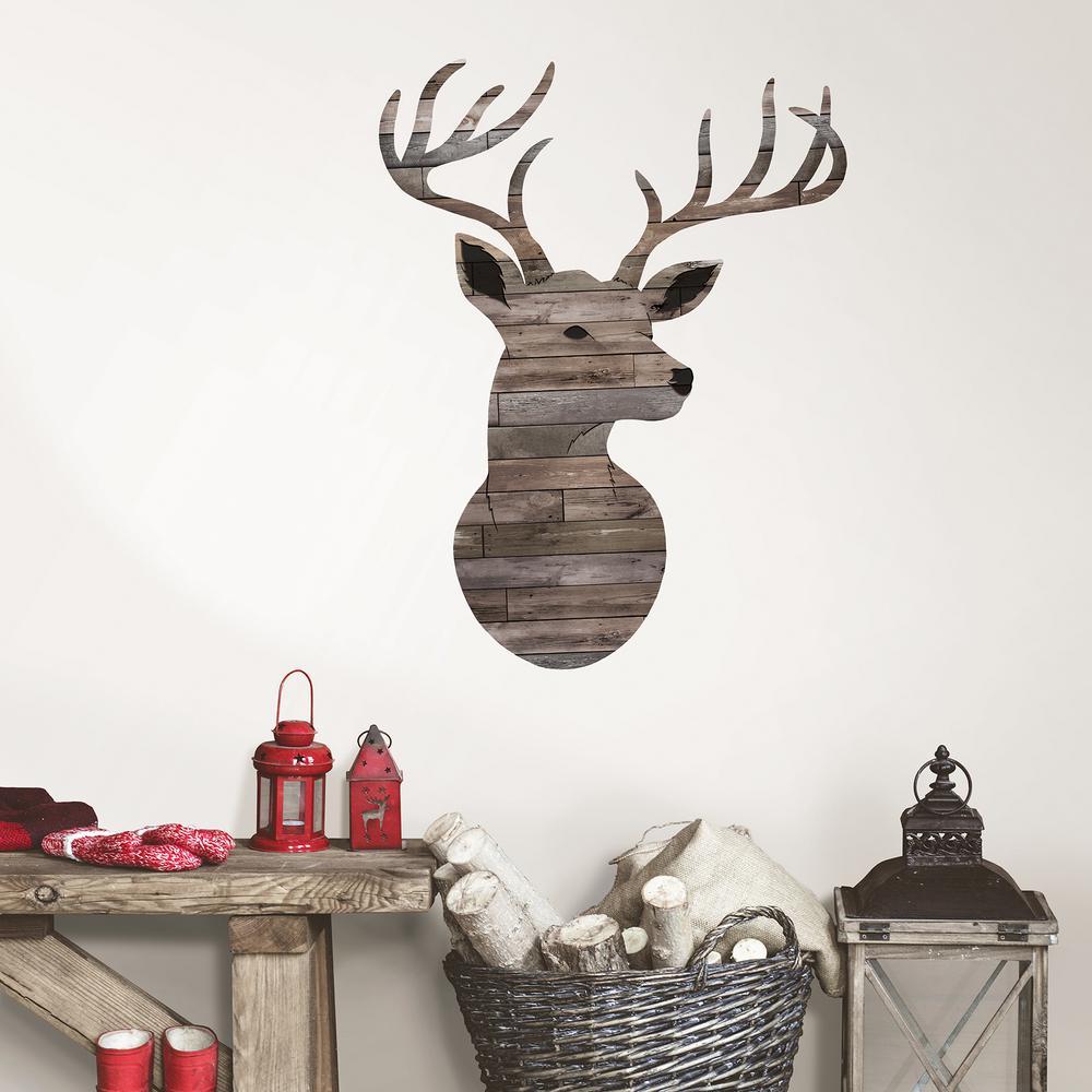 Brown Oh Deer Wall Decal