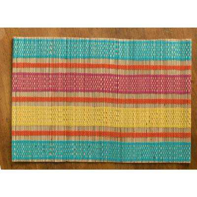 Fiesta Straw Placemats (Set of 4)