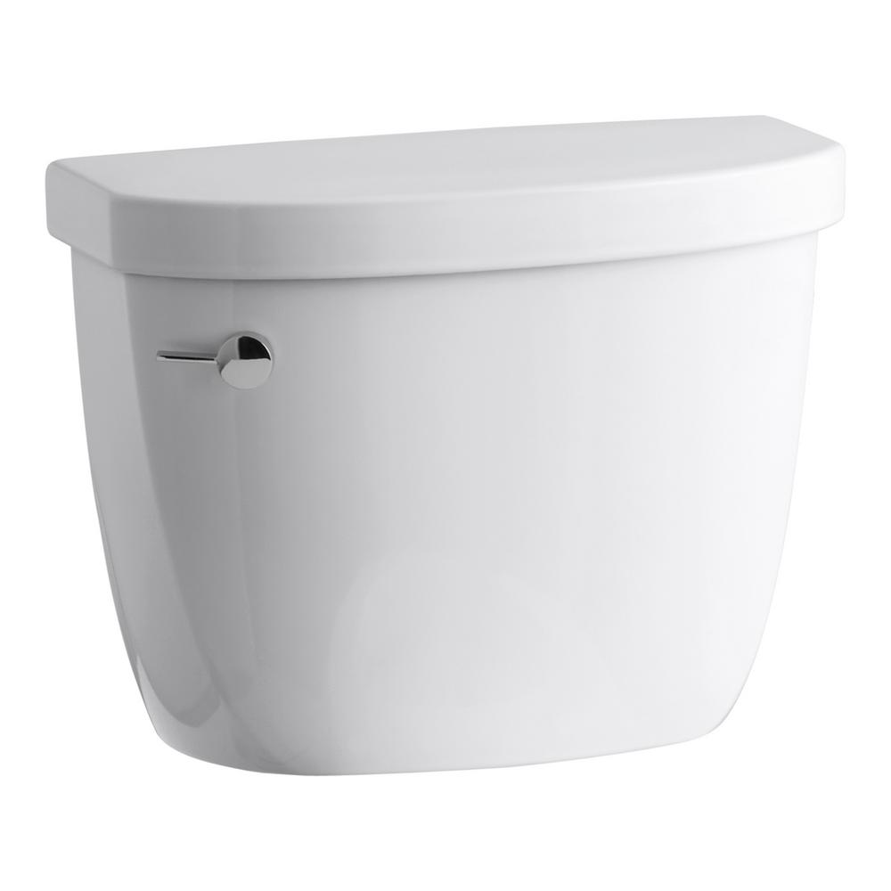 Cimarron 1.28 GPF Single Flush Toilet Tank Only in White