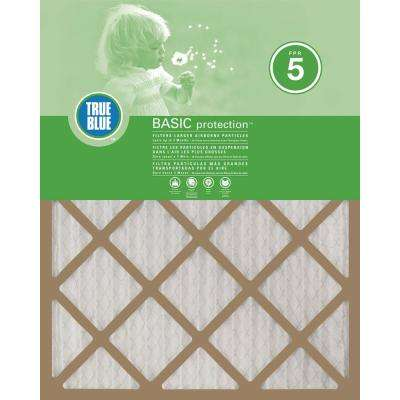 18 in. x 18 in. x 1 in. Basic FPR 5 Pleated Air Filter (12-Pack)