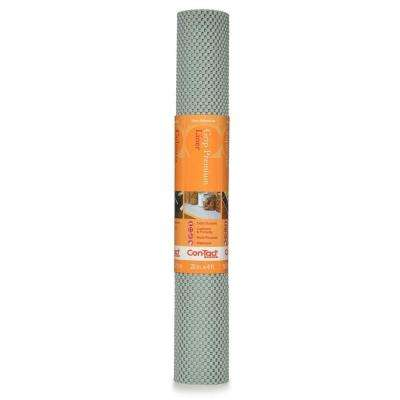 Grip Premium 20 in. x 4 ft. Lagoon Non-Adhesive Thick Grip Drawer and Shelf Liner (6 Rolls)