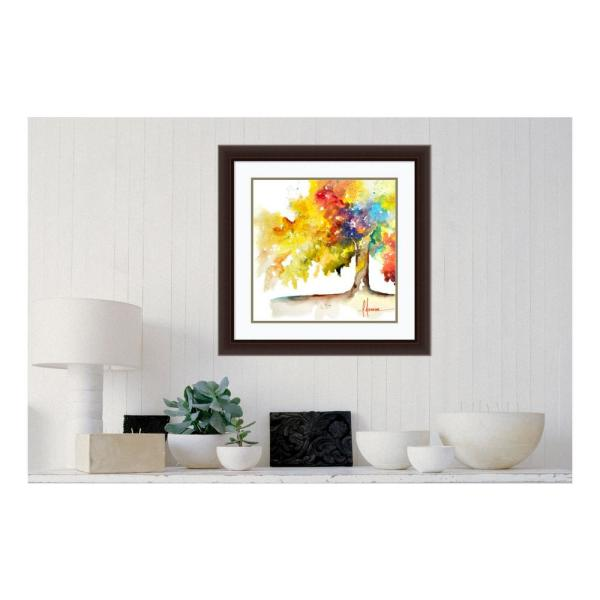Amanti Art 27 in. H x 27 in. W ''Rainbow Trees