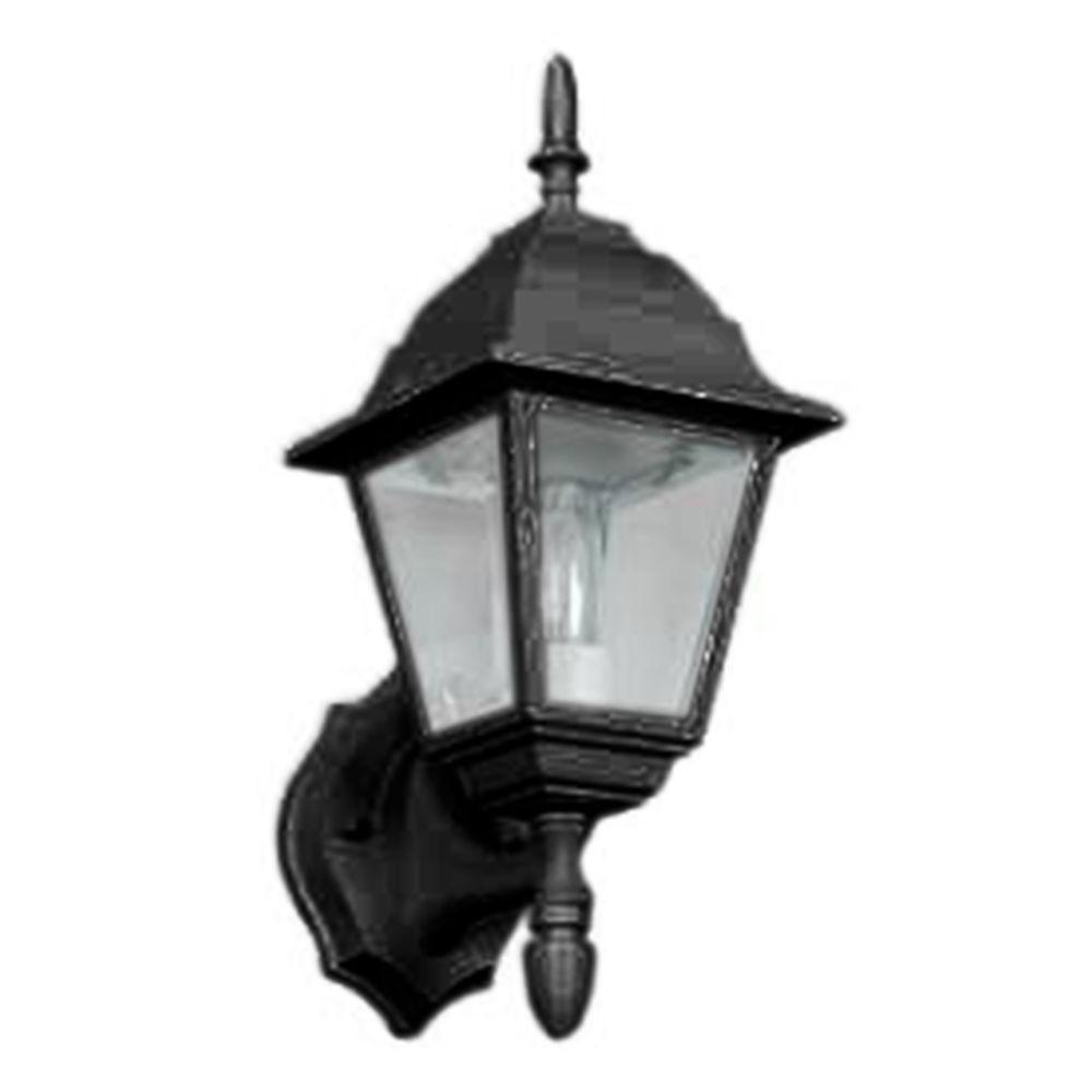 Seymore 1-Light Black Outdoor Wall Lantern