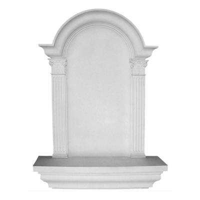 30-1/4 in. x 6-7/8 in. x 42-5/8 in. Primed Polyurethane Surface Mount Large Waltz Wall Niche