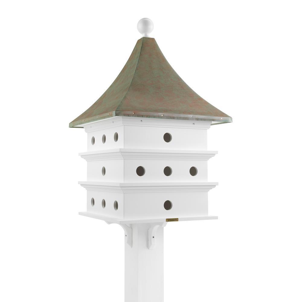 Prime Lazy Hill Farm Designs Ultimate Martin Birdhouse With Blue Verde Copper Roof Interior Design Ideas Philsoteloinfo