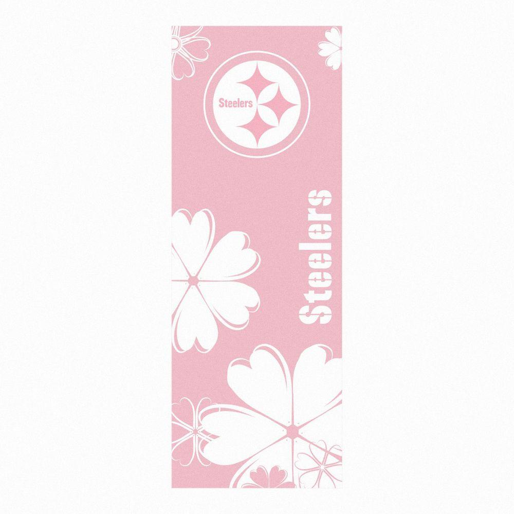 FANMATS Pittsburgh Steelers 24 in. x 67.5 in. Yoga Mat-DISCONTINUED