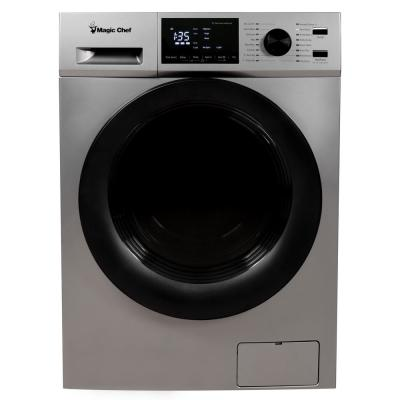 2.7 cu. ft. Silver All-in-One Combo Washer and Dryer