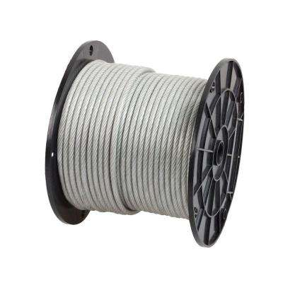 1/4 in. x 200 ft. Galvanized Vinyl Coated Wire Rope