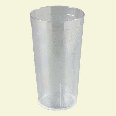 12 oz. SAN Plastic Stackable Tumbler in Clear (Case of 24)