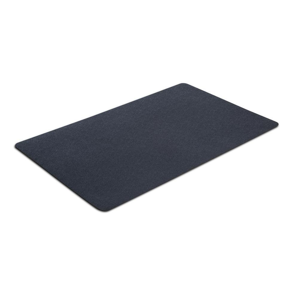 Dog Rug To Catch Dirt: VersaTex 30 In. X 48 In. Multipurpose Black Vinyl Mat-8M