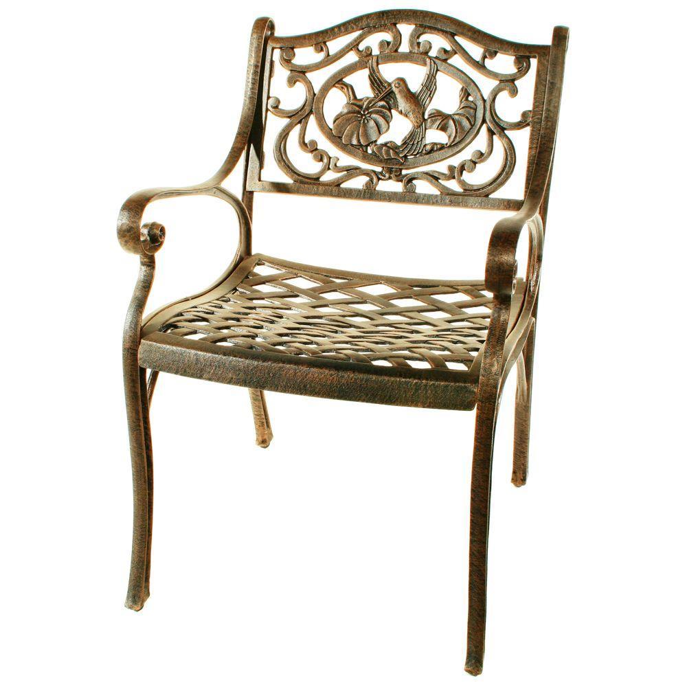 Hummingbird Patio Arm Chair