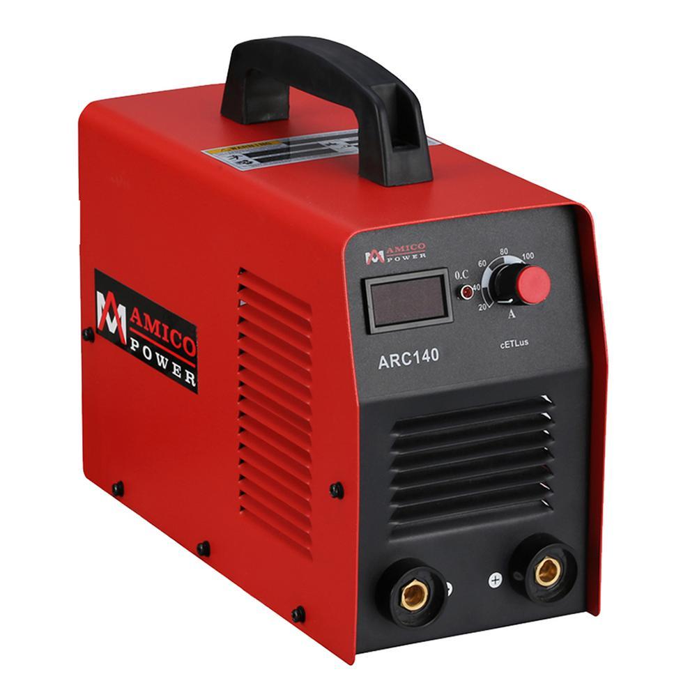 AMICO POWER Amico 140 Amp Stick arc Welder Igbt Inverter ...