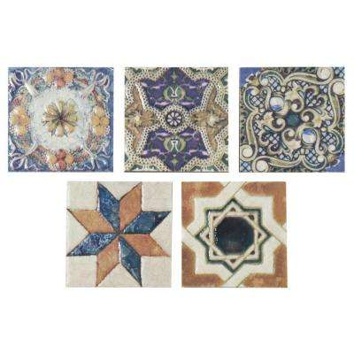 Avila Arenal Taco 2-3/4 in. x 2-3/4 in. Ceramic Floor and Wall Trim Tile (5-Pack)