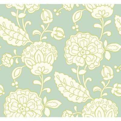 Carey Lind Vibe Chunky Floral Wallpaper