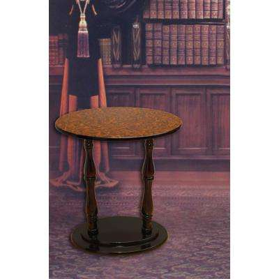 Espresso Brown End Table