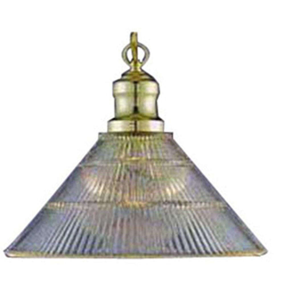Lenor 1-Light Polish Brass Incandescent Ceiling Pendant