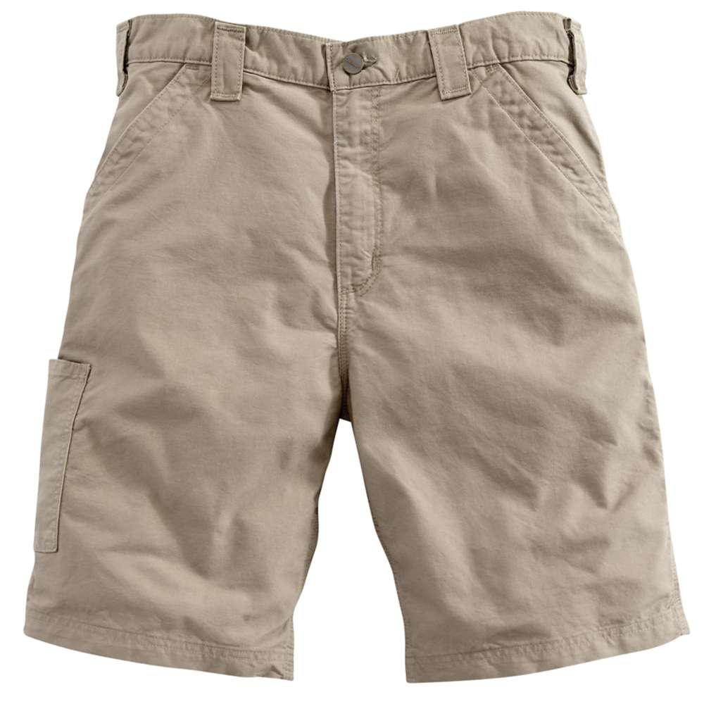 Men's Regular 32 Tan Cotton Shorts