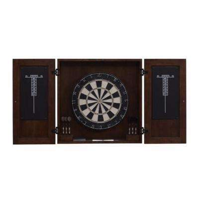 Turin 22 in. Dart Board with Accessories