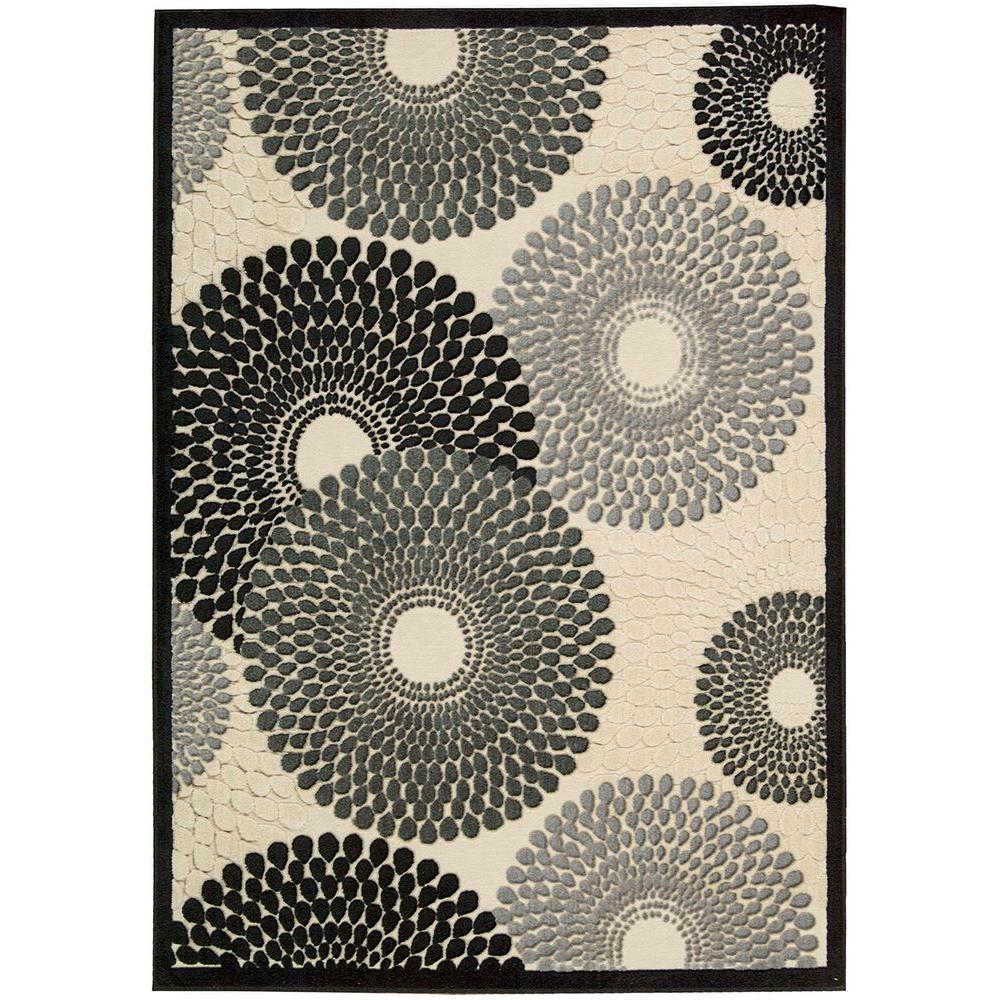 Graphic Illusions Parchment 5 ft. 3 in. x 7 ft. 5