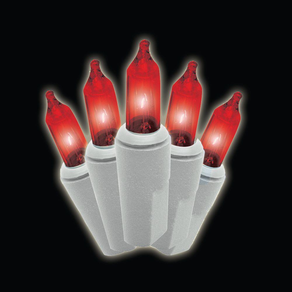 null 100-Light Mini Red Lights (Set of 2)
