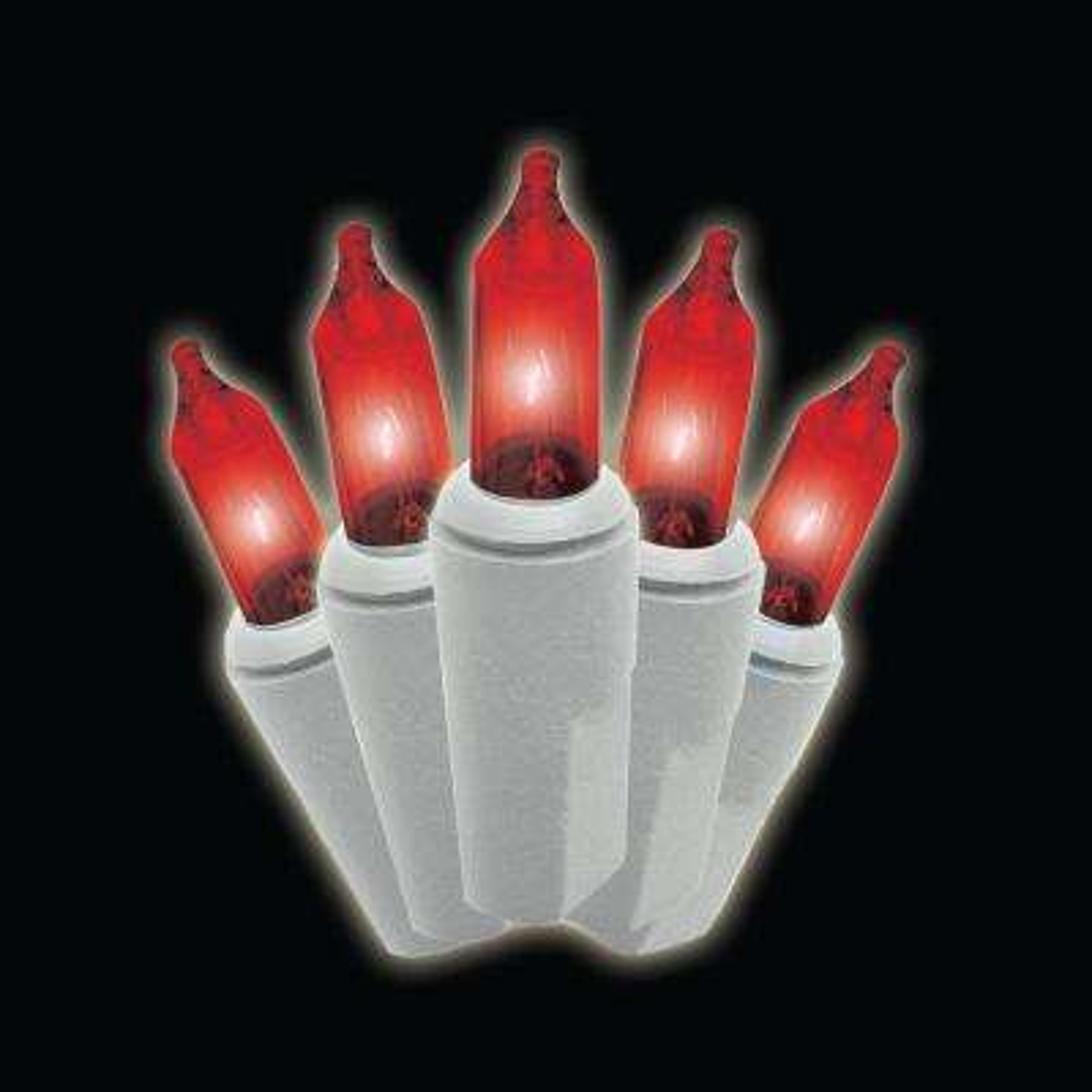 100-Light Mini Red Lights (Set of 2)