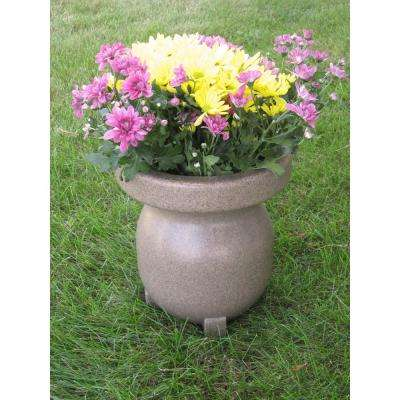Small Decorative Planter in Sandstone