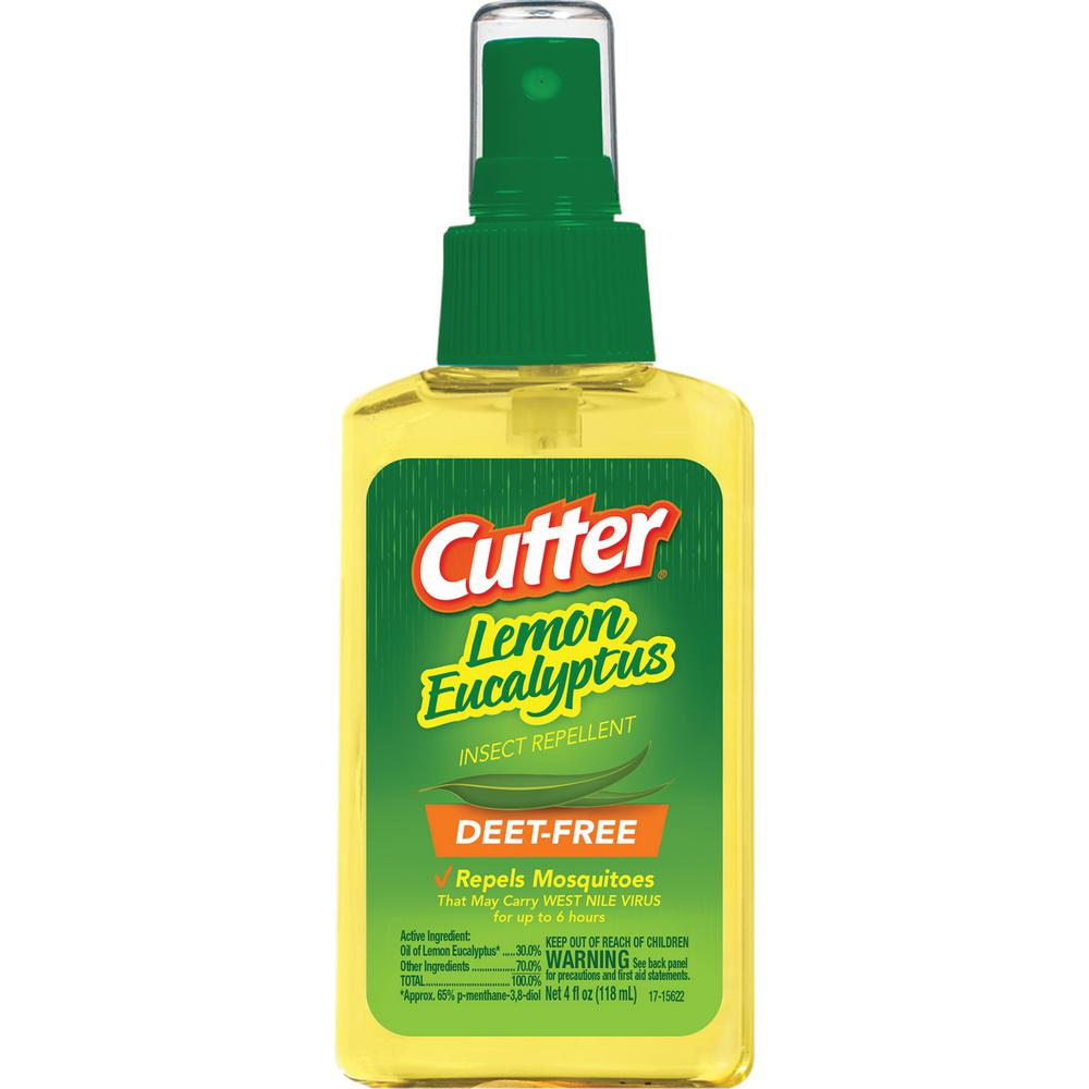 Cutter 4 Oz. Lemon Eucalyptus Insect Repellent-HG-96014-3