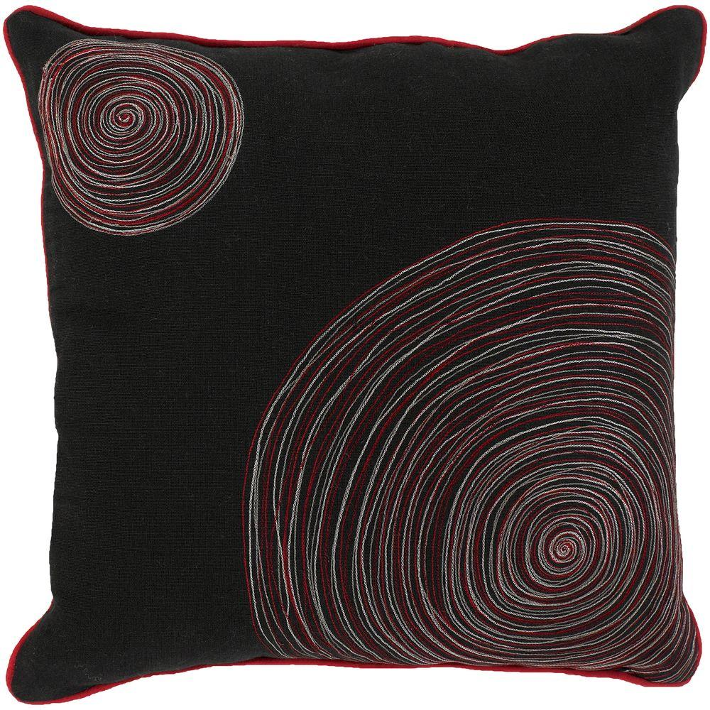 Artistic Weavers CirclesC1 18 in. x 18 in. Decorative Down Pillow