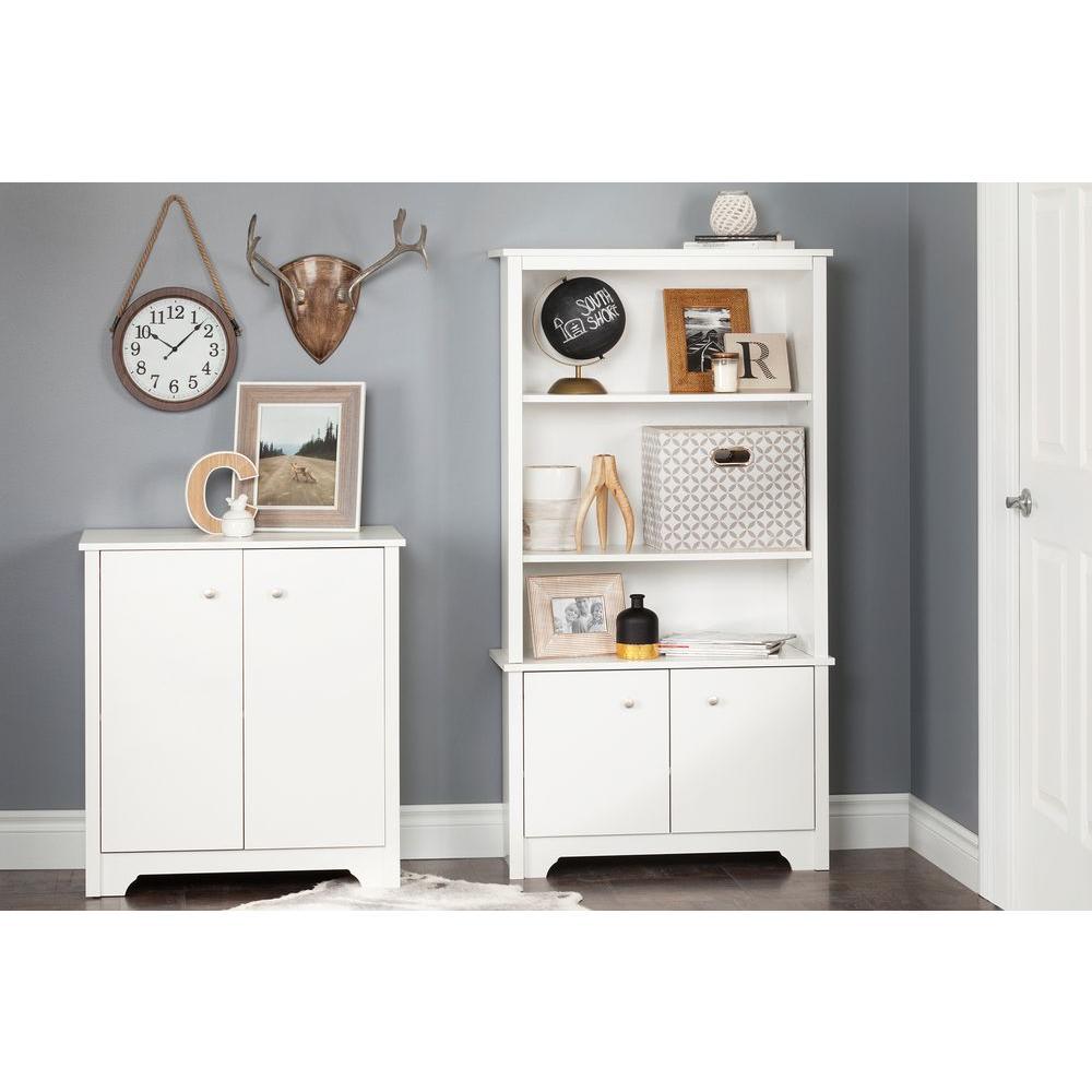 Vito Pure White Storage Cabinet