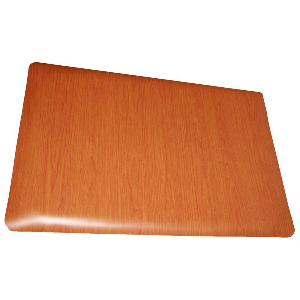Soft Woods Cherry 24 in. x 36 in. Vinyl Indoor Anti Fatigue Floor Mat