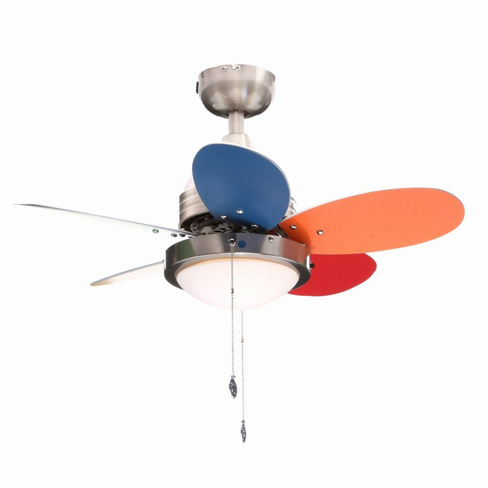 Westinghouse Roundabout 30 in. Brushed Nickel Ceiling Fan
