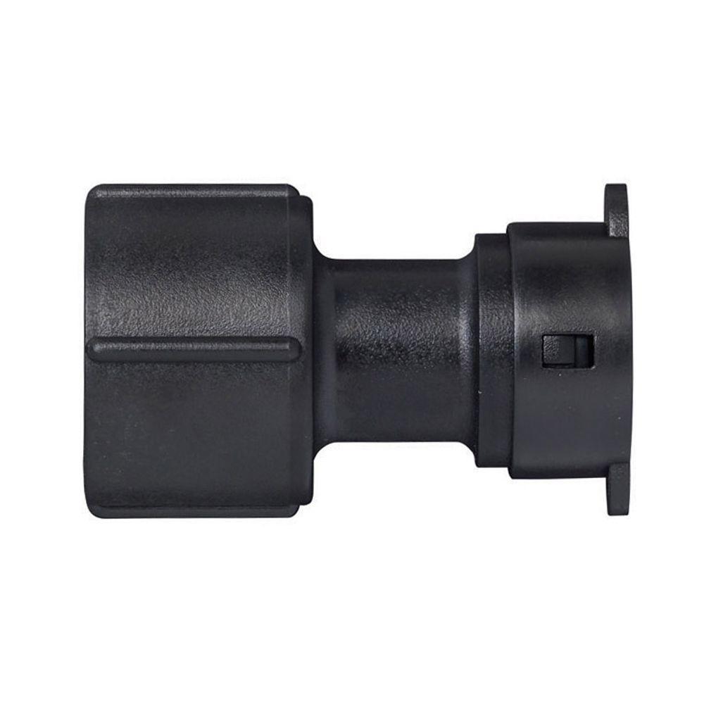Orbit 1 in. Plastic FPT x S Tubing Adapter