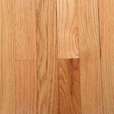 Natural Oak 3/4 in. Thick x 2-1/4 in. Wide x Varying Length Solid Hardwood Flooring (320 sq. ft. / pallet)