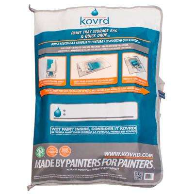 1.75 ft. x 2.5 ft. Zip Up Paint Tray Bag and Drop Cloth