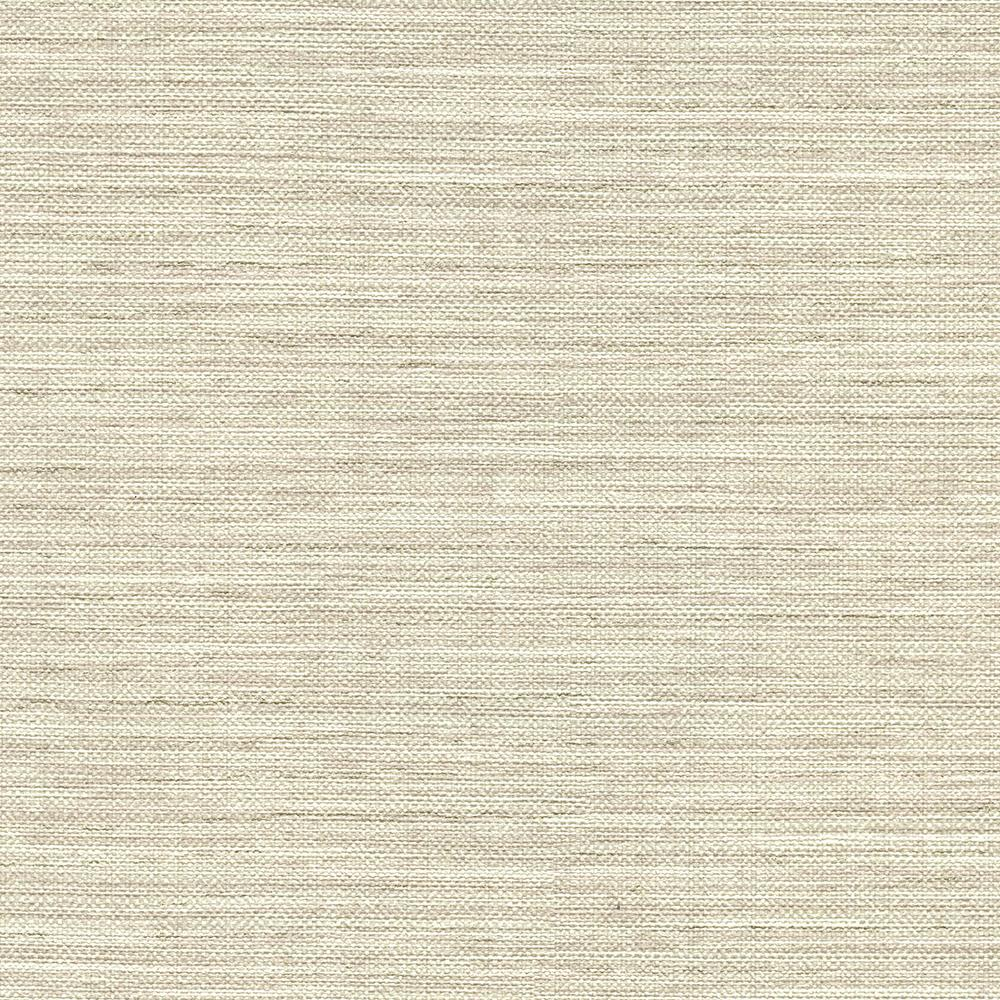 York Wallcoverings Taupe Grasscloth Strippable Non Woven: 8 In. X 10 In. Bay Ridge Taupe Faux Grasscloth Wallpaper