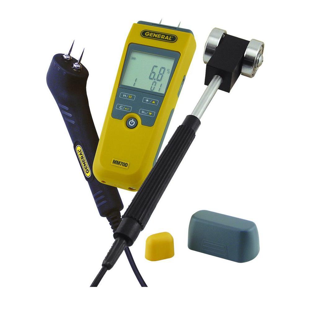 Deluxe Digital Moisture Meter Kit
