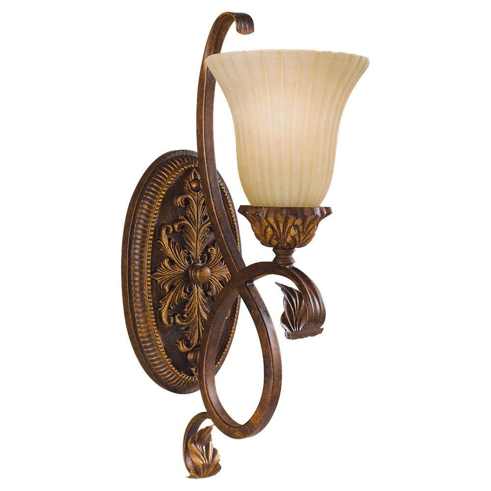 Feiss Sonoma Valley Aged Tortoise Shell Wall Sconce WB1280ATS